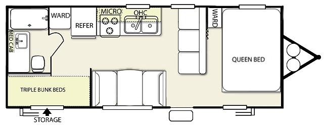 bunk bed rv floor plans