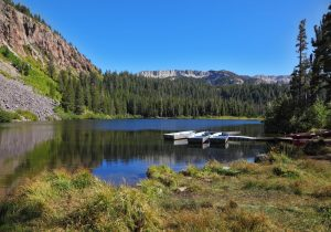 Camping in California Twin Lakes