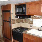 AIC RV Model 268 kitchen