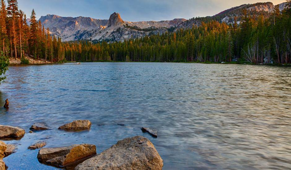 The Mammoth Lakes Basin from VisitMammoth